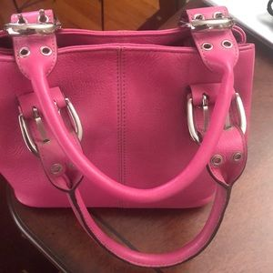 Pink Tignanello bag